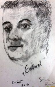 F.G. Niculescu (desen de Silvia Radu)