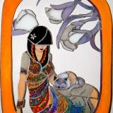 Mujer-mexicana